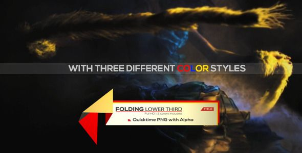 Unique Lower Third   VideoHive