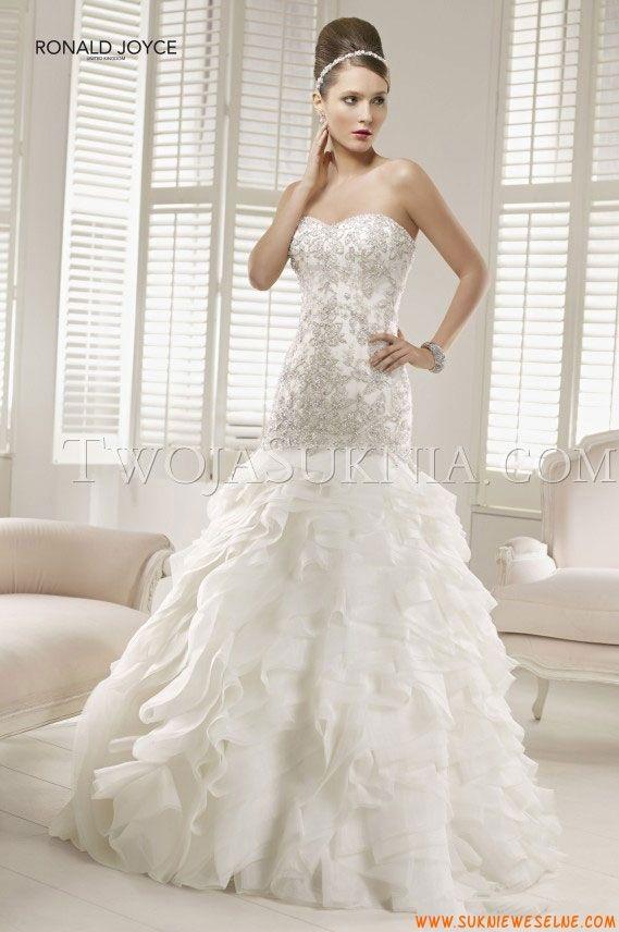 20 best Suknia ślubna Ronald Joyce images on Pinterest | Wedding ...
