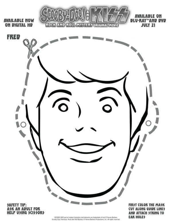 Free Scooby Doo Printable Fred