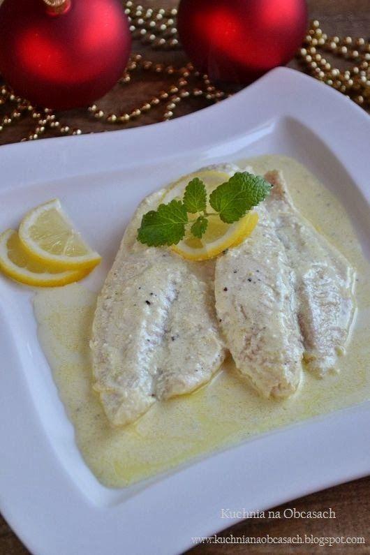 kuchnia na obcasach: Ryba w sosie cytrynowym