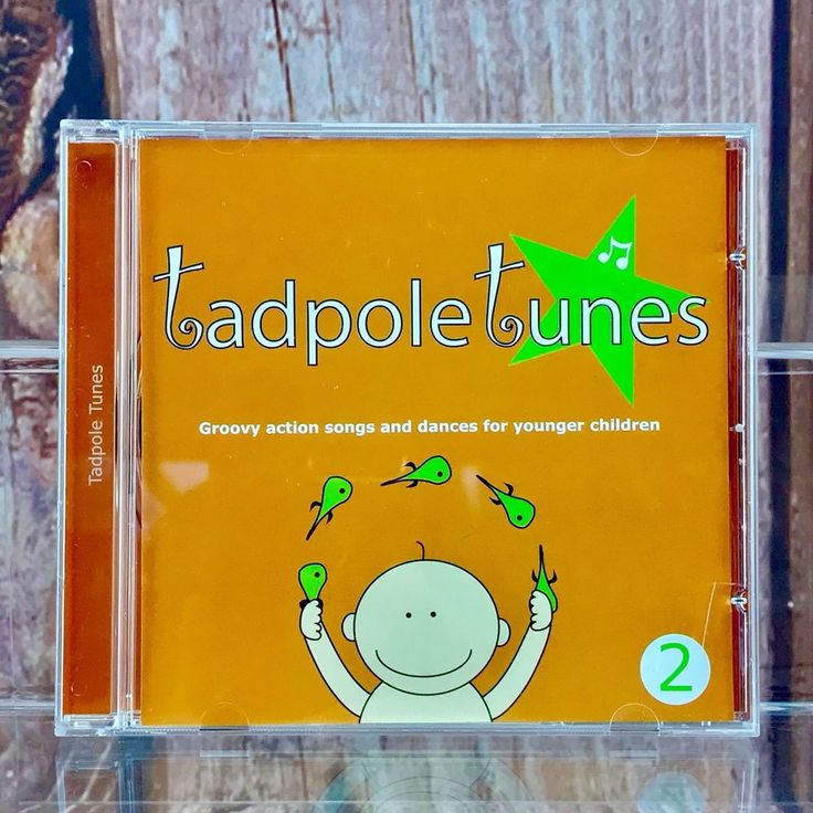 Tadpole Tunes Kids Cd no: 2  23 Great Songs Music Young Children Pre School 2010
