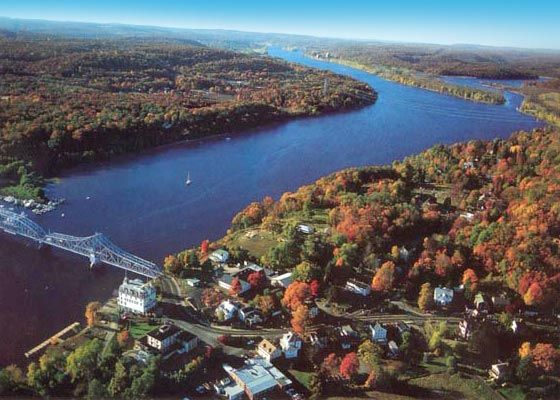 New London, CT...cute little town (US Coast Guard Academy)