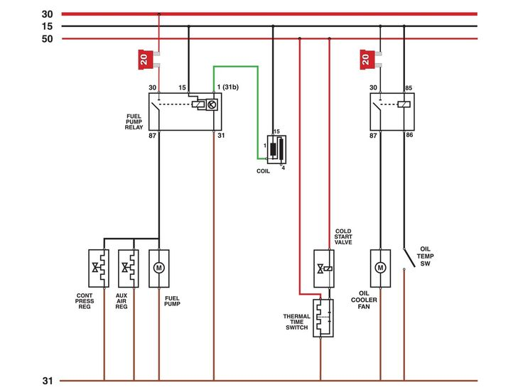 Wiring Diagram For An Electric Fuel Pump And Relay In 2020 House Wiring Relay Chevy Tahoe