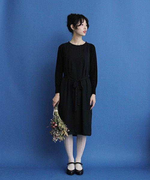 ブラックドレス 結婚式 二次会 黒ドレス/【セール】【OLIKA】フリルワンピース(ワンピース)|OLIKA(オリカ)のファッション通販 - ZOZOTOWN