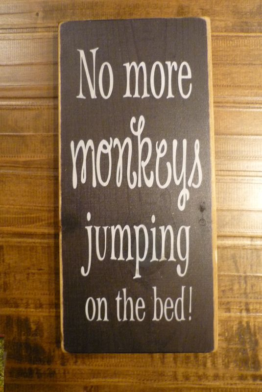 No More Monkeys Jumping on the Bed! http://www.thecuttersedge.com/products/index.php?s=2414