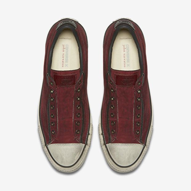 Converse x John Varvatos Chuck Taylor All Star Painted Nylon Low Top Unisex Slip-On Shoe