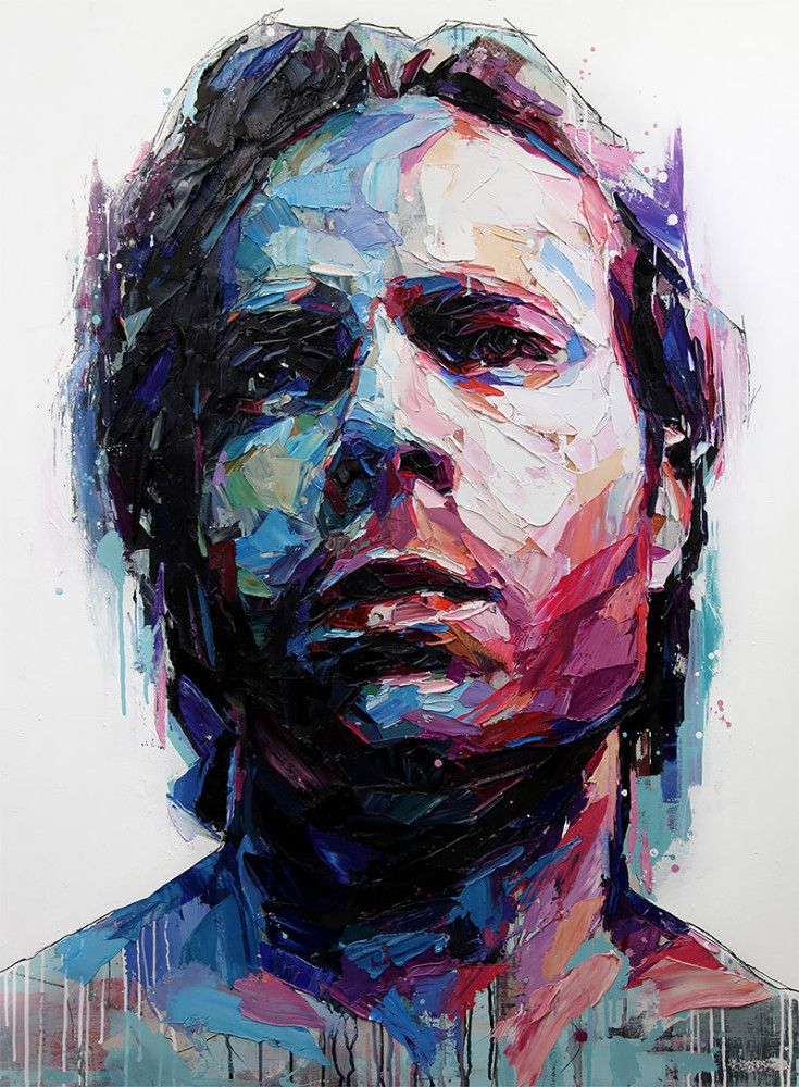 Best 25 contemporary portrait artists ideas on pinterest for Contemporary mural artists