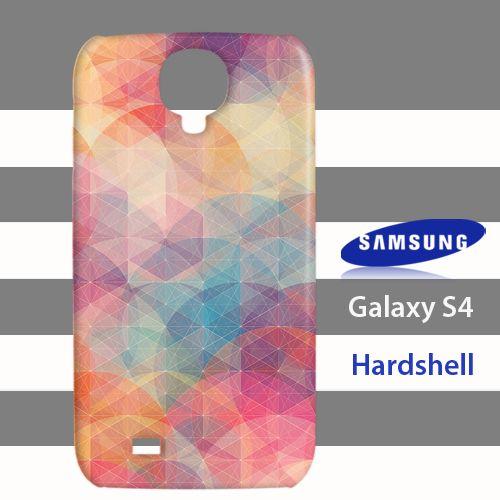Geometri Full Colors Samsung Galaxy S4 Case Cover Hardshell