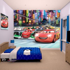 Cars Themed Wall Murals