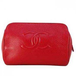 Chanel Sacs Wristlet Rouge Boutique CCS228,chanel pas cher  €119.00