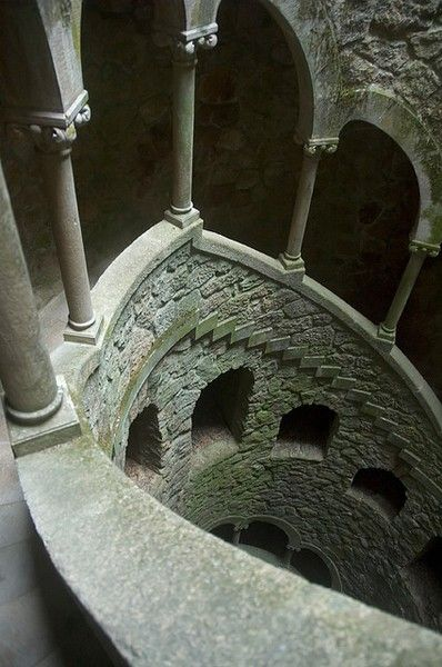 Masonic Initiation Well - Quinta da Regaleira, Sintra, Portugal