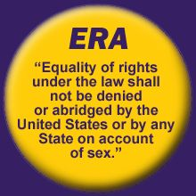 ERA: Home Learn about the Equal Rights Amendment and why it's NOT in the constitution yet, then sign the petition to make it happen