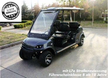 Beckers Golf Cart Handel -   - Ligier - Yamaha - WSM Mitsubishi - E-Z-GO - Club Car - WSM Mitsubishi MT1420 nach StVZO NEUFAHRZEUG Viersitzer                    Golf Cart / Golfcar