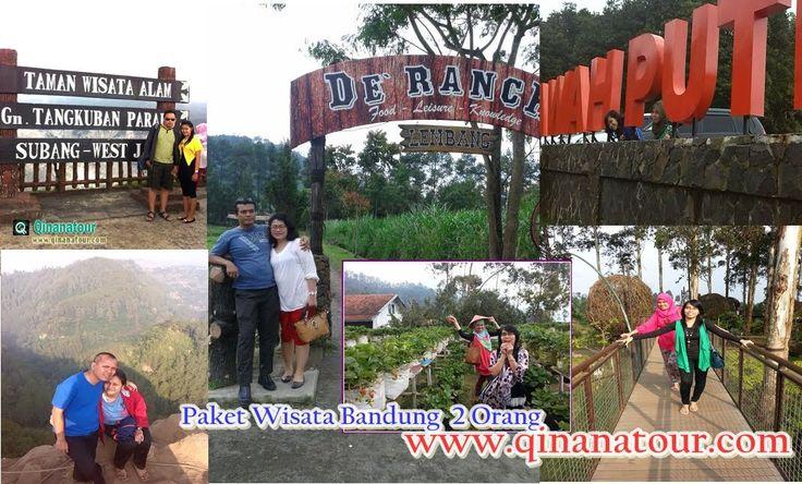 mau wisata ber- 2 orang aja juga bisa. ini daftar tempat wisata favorit di Bandung. yuk segera rencanakan liburan murah kamu di Bandung bersama Qinanatour