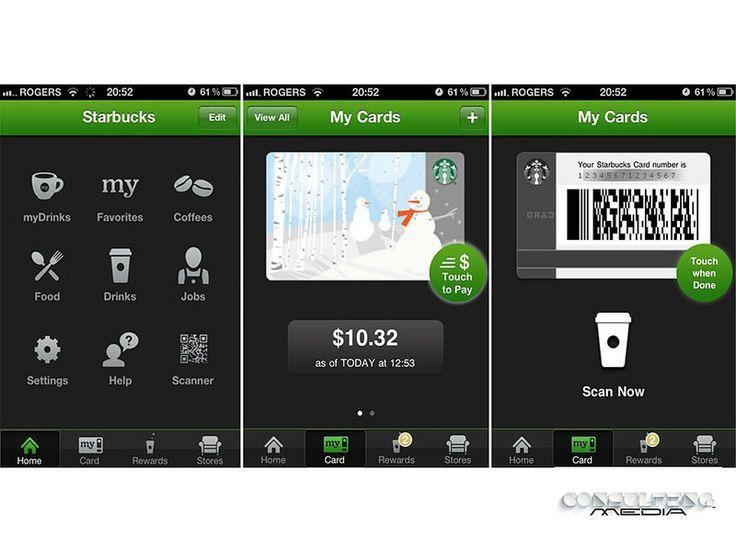 #miguelbaigts   #redessociales MIGUEL BAIGTS. Starbucks App ya soporta Apple Pay. ¿Cómo funciona? Mediante la aplicación y Apple Pay,  se podrá recargar la tarjeta Starbucks que funciona mediante un código de barras, para luego utilizar este crédito en los locales de venta, la aplicación es gratuita. www.consultingmediamexico.com