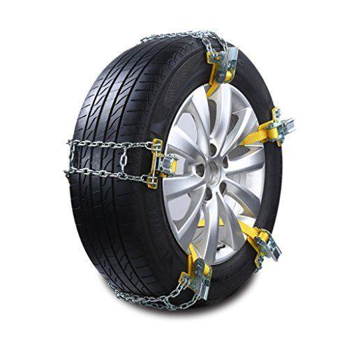 ecmqs neige Pneu Chaîne acier manganèse pneus de voiture Anti Skid Chaîne Emergency Tire antidérapants Ceinture 1pc: Caractéristiques:…