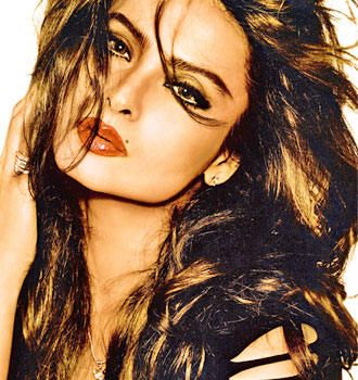 Rekha daughter of south India's most charming actor GEMINI GANESAN.