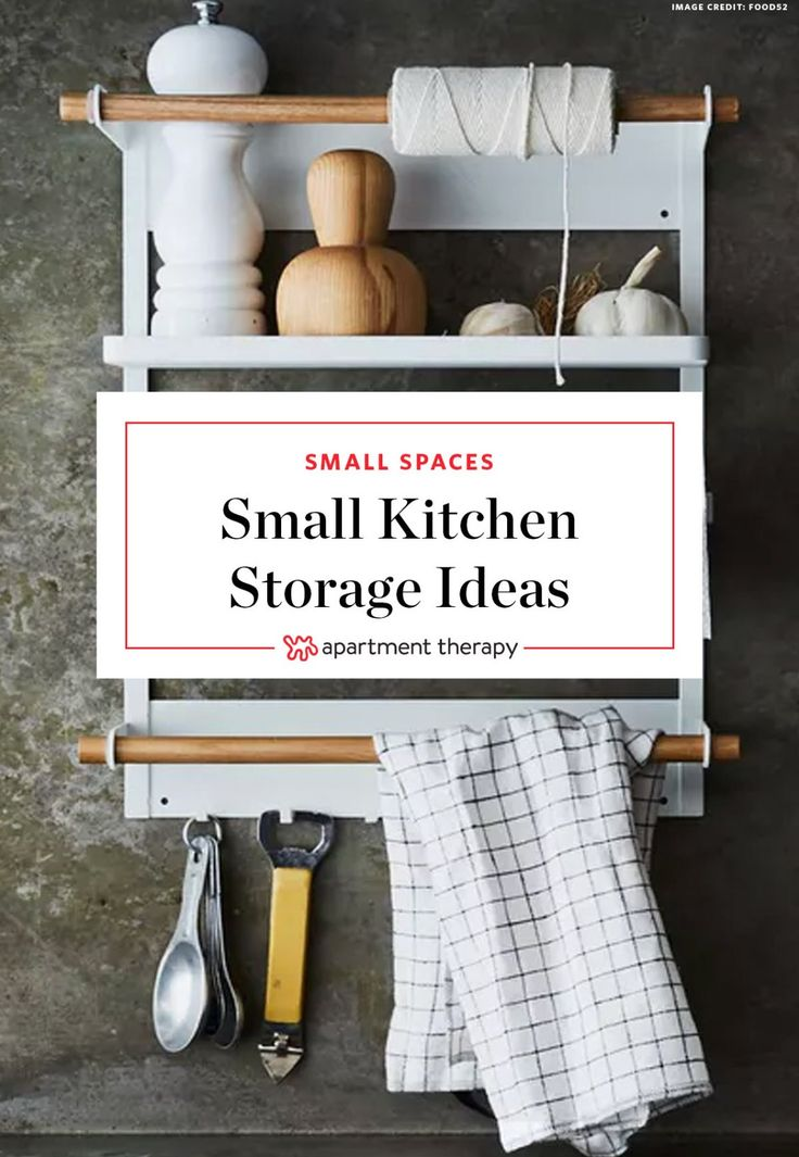 """Small Kitchen Workhorses: 8 Barely There (But Crazy Useful) Storage Solutions 