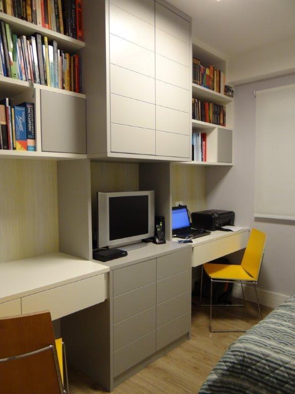Dormitório multiuso solução para famílias que recebem hóspedes em casa