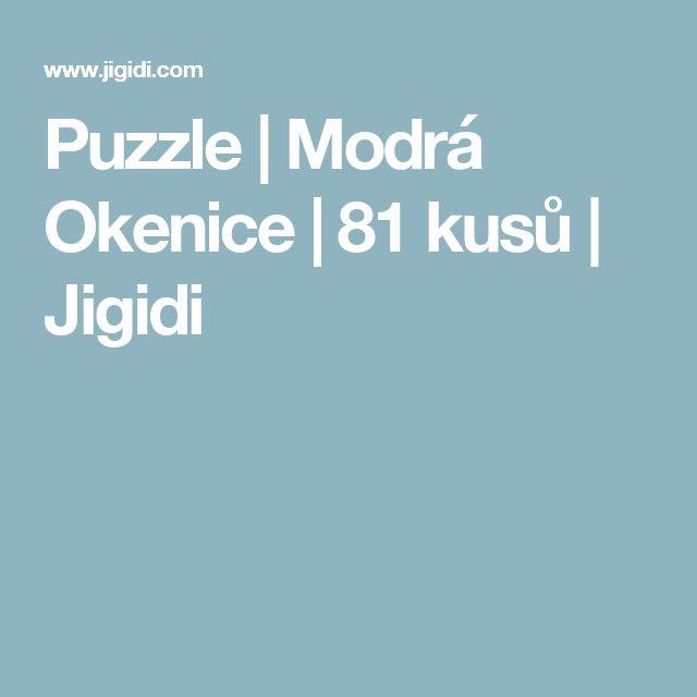 Puzzle |  Modrá Okenice |  81 kusů |  Jigidi