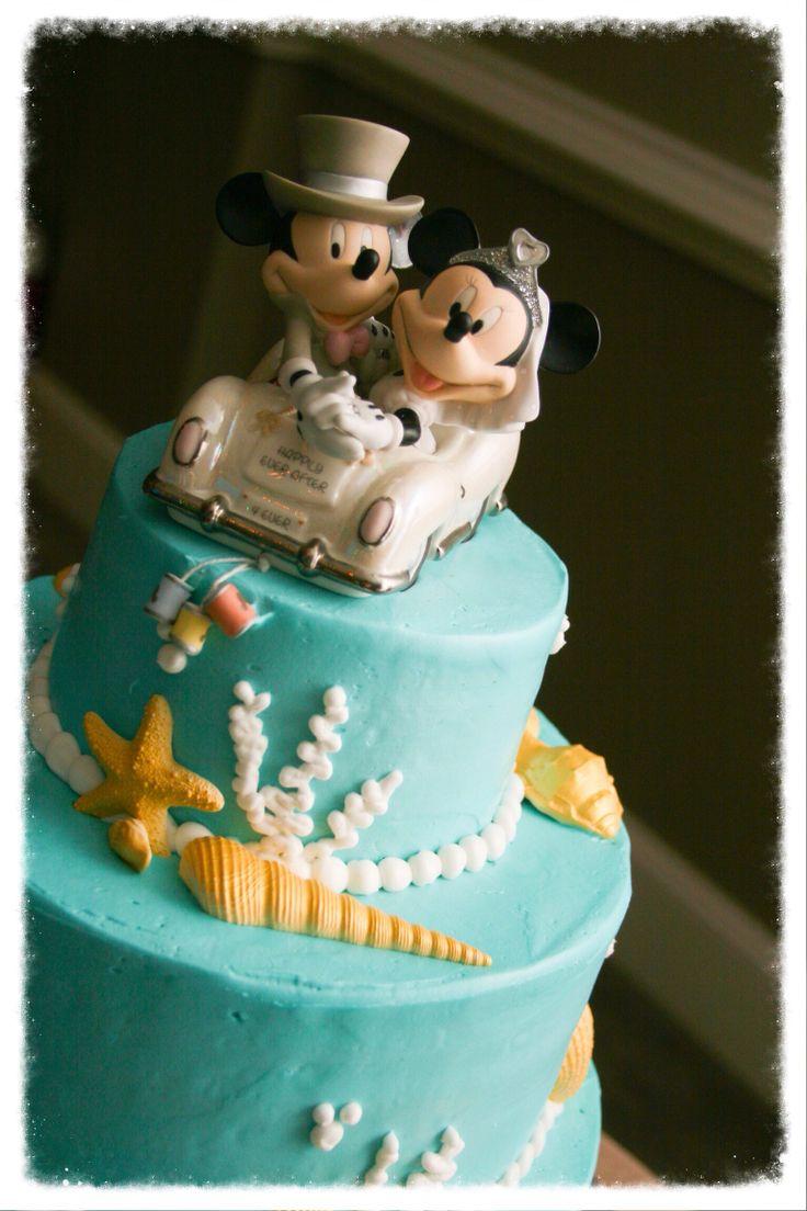 Mickey Mouse Disney Wedding Cake www.586eventgroup.com