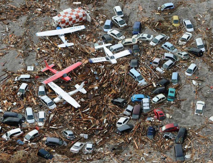 Le Genpatsu-shinsai de Fukushima #FukushimaCatastrophe