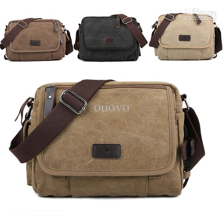 New Brand Unisex Casual Canvas Messager/Shoulder Bag Men's Crossbody School Bags Online with $38.96/Piece on Ouovo's Store | DHgate.com