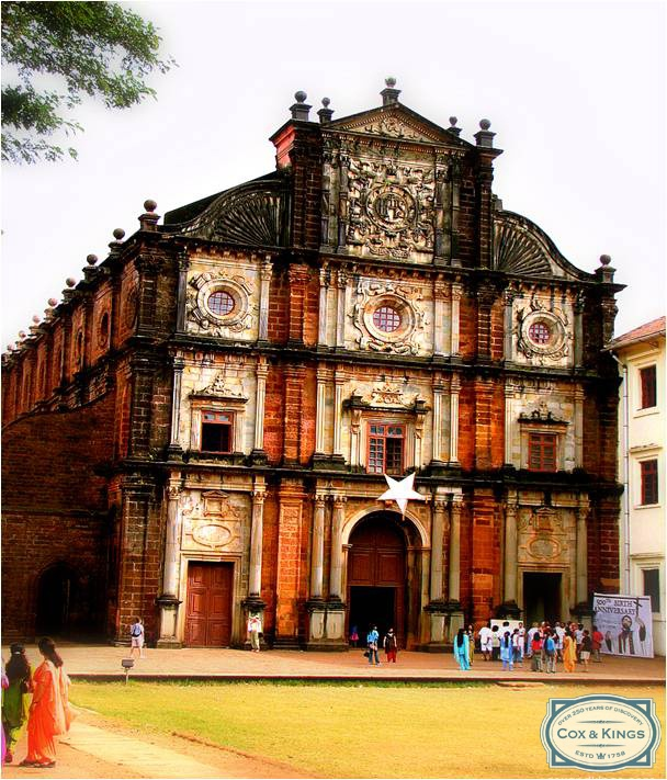 Did you know that the Basilica of Bom Jesus was designed by the 17th-century Florentine sculptorGiovanni Battista Foggini?    It took ten years to complete!  Your Goa trip however can be planned instantly. #CoxandKings