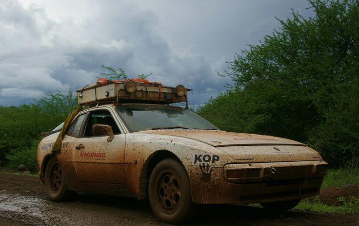 Porsche 944 across Africa