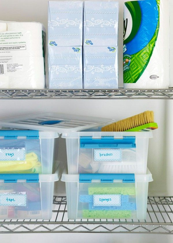 Easy Storage and Organization Solutions - 49 Brilliant Garage Organization Tips, Ideas and DIY Projects