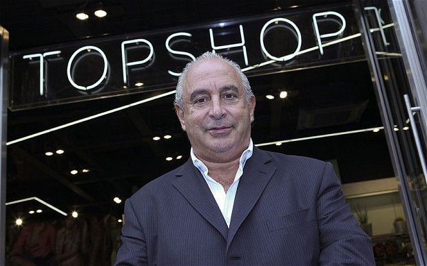 The ugly: Sir Philip Nigel Ross Green is a British businessman and the Chairman of the Arcadia Group, a retail giant that includes Topshop & Topman