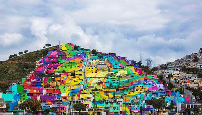moksha.hu | Street art művészek rehabilitáltak egy városrészt | http://www.moksha.hu