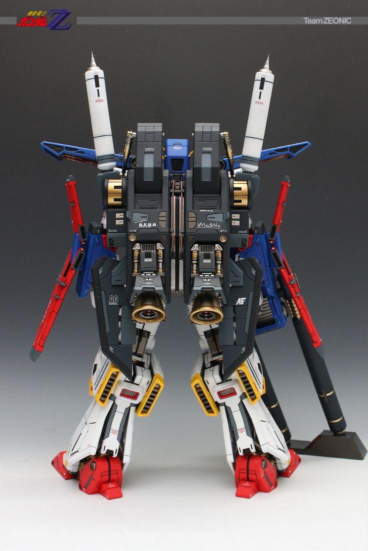 GUNDAM GUY: 1/60 MSZ-010 ZZ Gundam - Painted Build