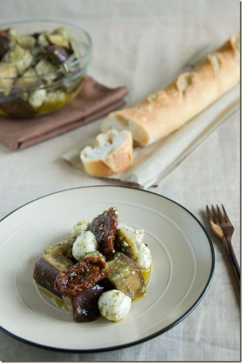 Eggplant Salad with Sun Dried Tomatoes | in the kitchen {recipes ...
