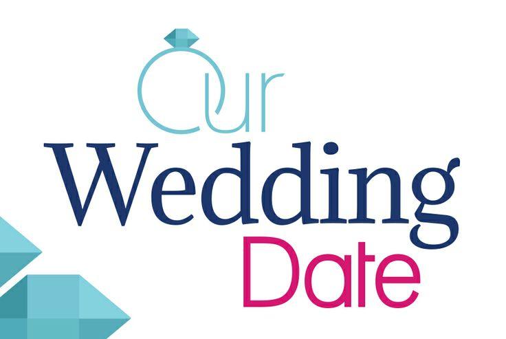 Our Wedding Date - Logo Design Perth | graphic design perth - www.cvwcreative.com - 08 9219 1300