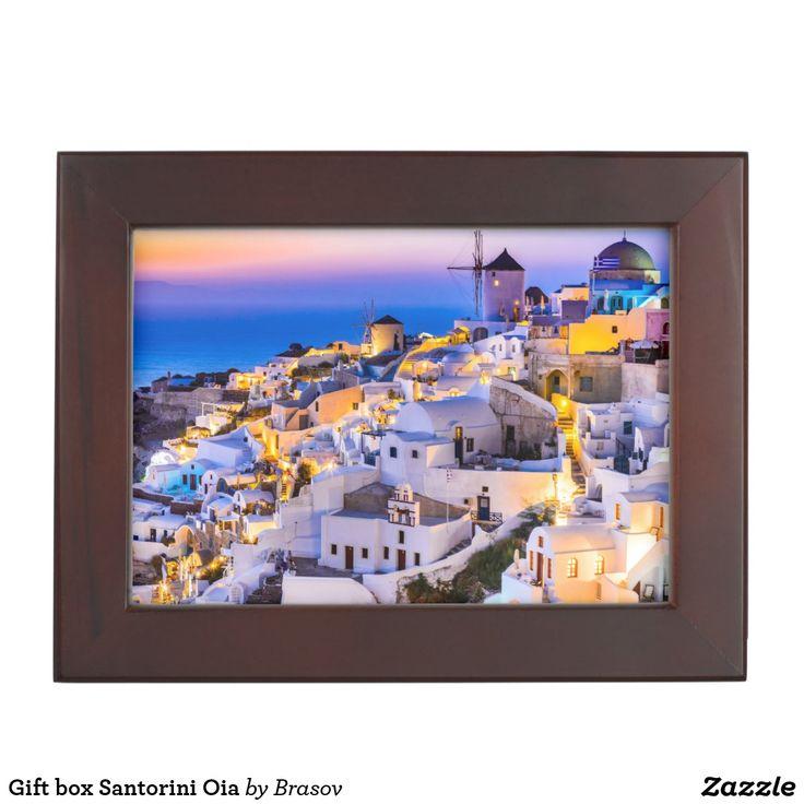 Gift box Santorini Oia