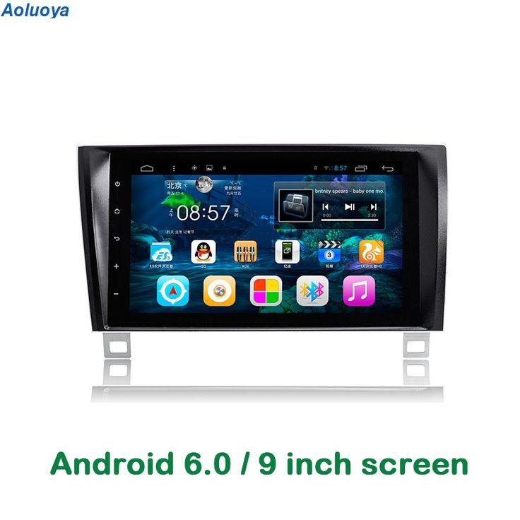 Aoluoya Quad Core Android 6.0 CAR Radio DVD GPS Navigation For Toyota Tundra 2007-2013 Sequoia 2008-2015 car audio headunit WIFI #Affiliate