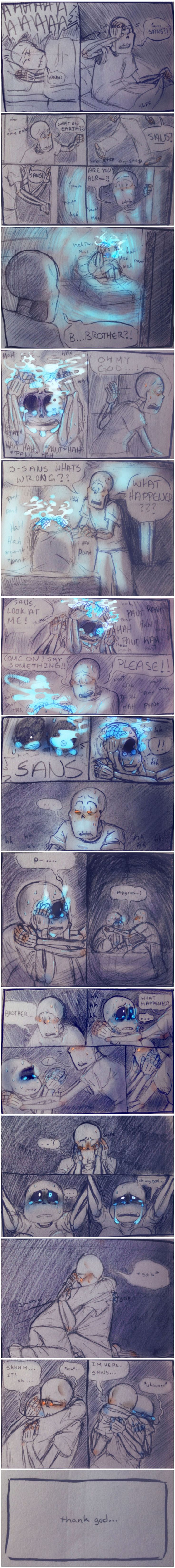 Sans and Papyrus - Night Terrors 2/2 #comic