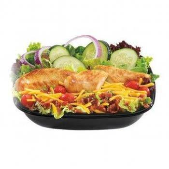 Best Fast Food Salad | List of Helathiest Fast Food Salads (Page 3)