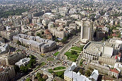 "Bucharest, Romania where we ""lived"" for 9 weeks in 1991"