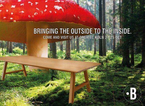 Bringing the outside to the inside.