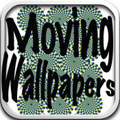 Moving Wallpapers for iPhone - The one of a kind app where your wallpapers appear to move! ScreenshotsDescriptionThank you for choosing Moving Wallpapers for iPhone. These are optical illusion backgrounds that only give the effect of movement, they don't actually move. Set them as your lock ...