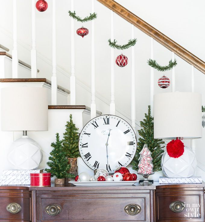 25+ Unique Christmas Staircase Ideas On Pinterest