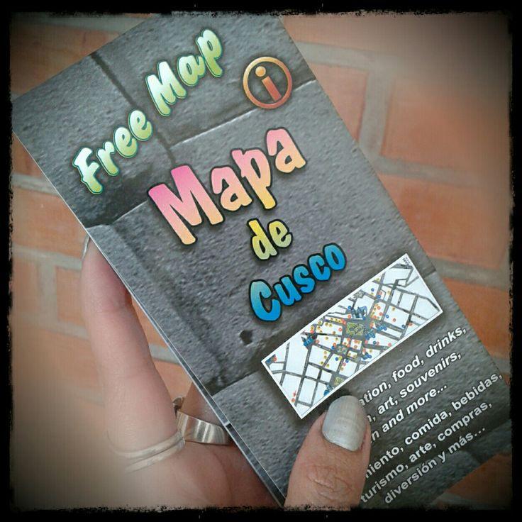 8 edición del Mapa de #Cusco 📍🗺 #Cuzco