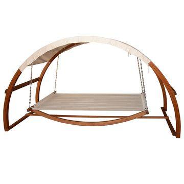 Schaukel-Lounge mit Dach, 370€, jetzt auf Fab.