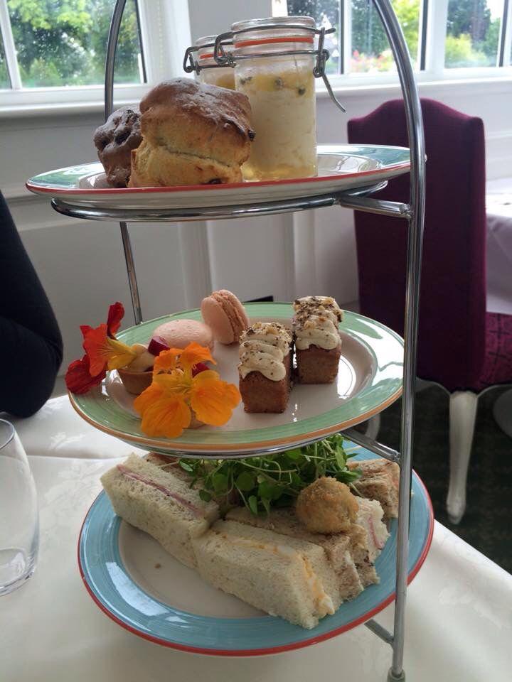 Afternoon Tea at Orsett Hall..Essex UK