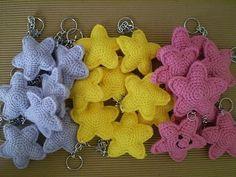 Pattern stars ☀crochet DIY ❥Teresa Restegui http://www.pinterest.com/teretegui/❥