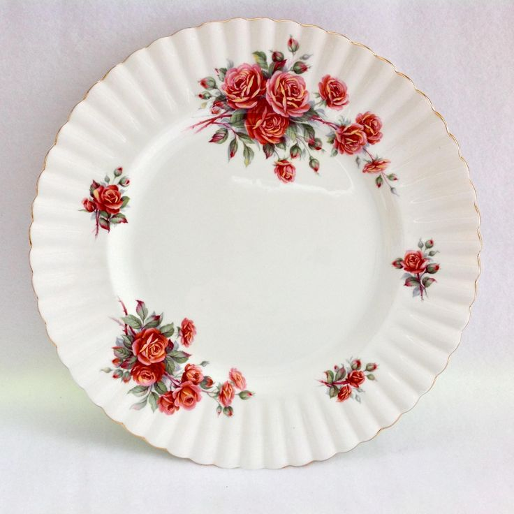 Royal Albert Bone China Centennial Rose Dinner Plate