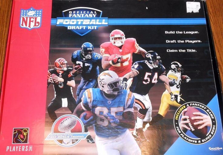 COMPLETE OFFICIAL NFL FANTASY FOOTBALL DRAFT KIT 338 BY EXCALIBUR ELECTRONICS #ExcaliburElectronics