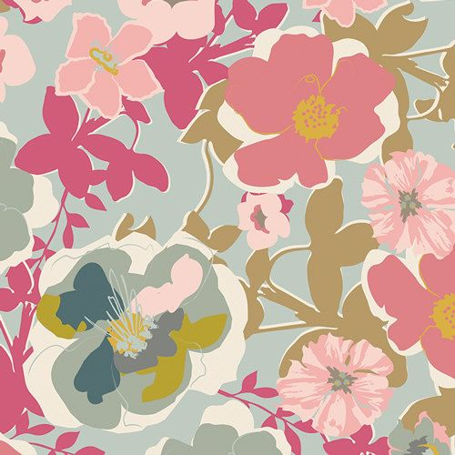 Blomma Garden in Pastiche from Heartland HRT-85300 - Pat Bravo - Art Gallery Fabric - 100% Quilters Cotton - You Choose the Length